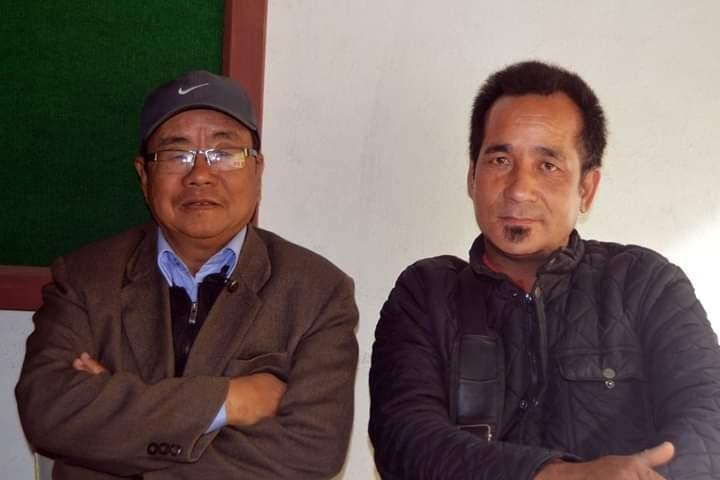 Himal Rai with Harsha subba