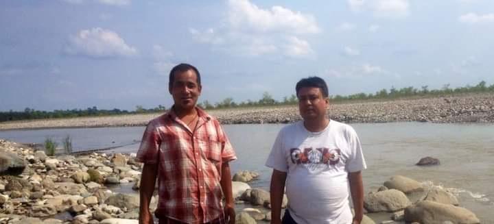Himal Rai with Rajesh Bidrohi